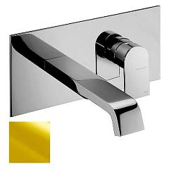 Frattini 83034.02 Basin mixer - gold wall brez drain Tolomeo
