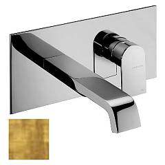 Frattini 83034.82 Washbasin mixer - ancient wall gold without discharge Tolomeo