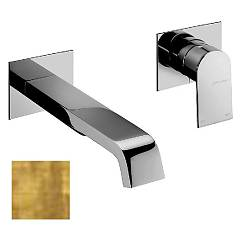 Frattini 83034a.82 Washbasin mixer - ancient wall gold without discharge Tolomeo