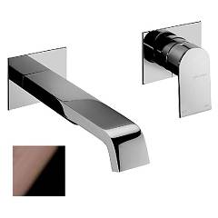 Frattini 83034a.89 Washbasin mixer - black chrome wall without discharge Tolomeo