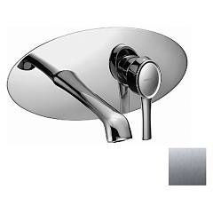 Frattini 58034.70 Wall-mounted sink mixer - inox without discharge Delizia