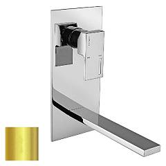 Frattini 53035.02 Wall mounted mixer - gold without discharge Vita