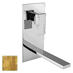 Frattini 53035.82 Wall-mounted sink mixer - ancient gold without discharge Vita