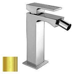 Frattini 53103.02 Bidet mixer - gold with drain Vita
