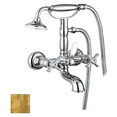 sale Frattini 23002.82 - Musa Faucet External Bath - Antique Gold With Shower