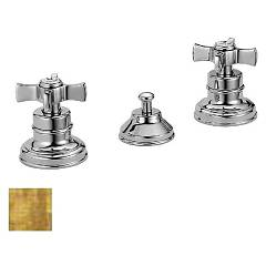 Frattini 23103.82 - Musa Bidet faucet - antique gold with exhaust Musa