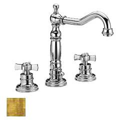 Frattini 23868.82 Sink tap - old gold with drain Musa