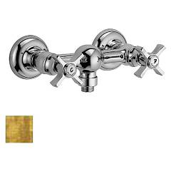 Frattini 23006.82 Wall shower - antique gold Musa