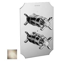 Frattini 23610.03 Shower mixer - ancient silver thermostatic Musa