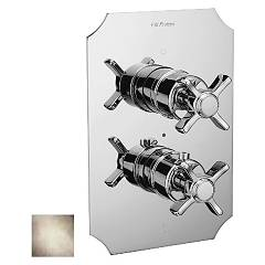 Frattini 23630.03 Shower mixer - ancient silver thermostatic Musa