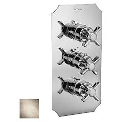 Frattini 23631.03 Shower mixer - ancient silver thermostatic Musa