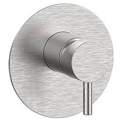 Frattini 1251670 Wall mounted shower mixer - stainless steel Pepe