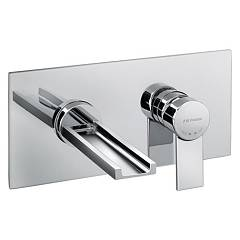 Frattini 55033 Basin wall cascade - chrome brez drain Gaia
