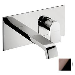 Frattini 83034.89 Washbasin mixer - black chrome wall without discharge Tolomeo