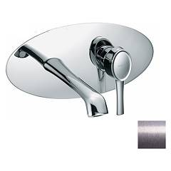 Frattini 58034.80 Wall-mounted sink mixer - silver without discharge Delizia