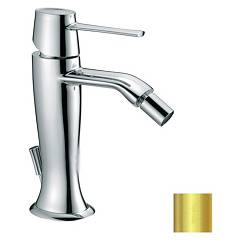 Frattini 58103.02 Bidet mixer - gold with drain Delizia