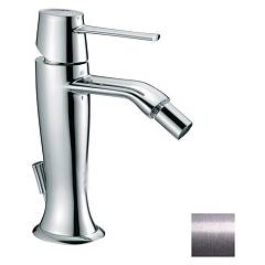 Frattini 58103.80 Bidet mixer - silver with drain Delizia