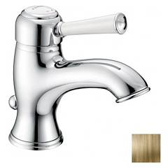 Frattini 63054.09 Basin mixer - antique brass z izpušnimi Morgan Prestige