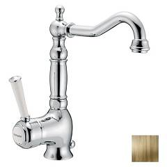Frattini 63864.09 Basin mixer - antique brass z izpušnimi Morgan Prestige
