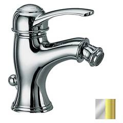 Frattini 29103.20 Bidet mixer - chrome gold with drain Morgan