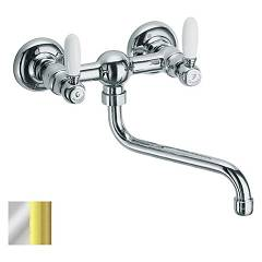 Frattini 33150.20 Pipa kuhinja - chrome gold Lybra
