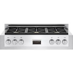 Fulgor Fsrt 3606 G X Gas stove top cm. 91 - 6 double crown - stainless steel Professional Range Top