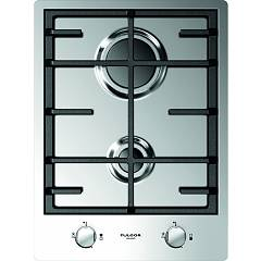 Fulgor Cph 402 G X Gas hob 40 cm - stainless steel Piani Combi Set