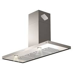 Fulgor Fqh 1200 X 120 cm wall-mounted hood - stainless steel