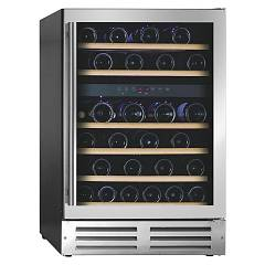 Fulgor Fwc 8746 U Tc X Wine cellar cm 59 h 87 - stainless steel - folding opening - reversible