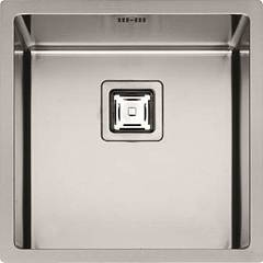 sale Fulgor P1b 4545 Q F-sf Sink Recessed - Filotop Cm. 45 X 45 - Stainless Steel 1 Basin
