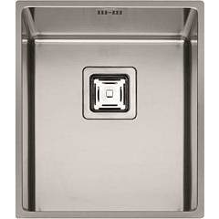 sale Fulgor P1b 3743 Q U Sink Undermounted Cm. 37 X 43 - Stainless Steel 1 Basin