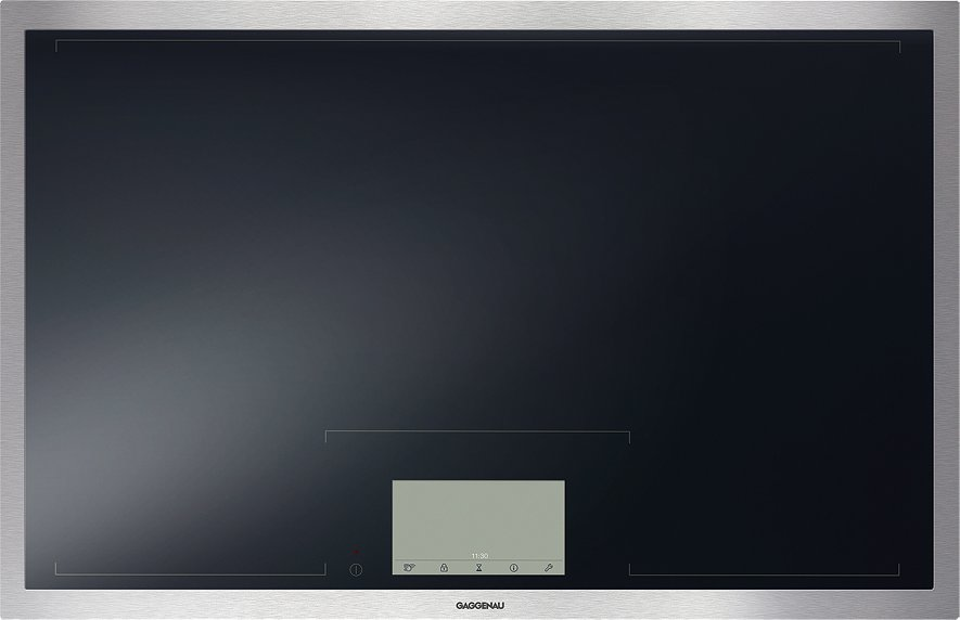 Photos 1: Gaggenau CX 480 111 Serie 400 Induction cooking top cm. 80 stainless steel frame