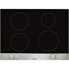 Gaggenau Vi 270 114 Induction hob cm. 70 glass ceramic with stainless steel front panel Serie Vario 200