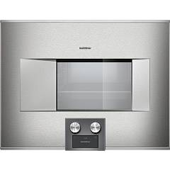 sale Gaggenau Oven steam cm. 60 sx 400 series stainless steel Bs 475 111 Combi-steam oven controls below