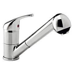 Geda Kt28e Kitchen mixer with shower - chrome System