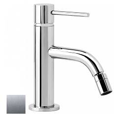 Geda Mme148 Single-lever bidet mixer - brushed nickel without leak and drain Minimè