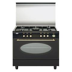 Glem Ua96tr3 Kitchen cm. 90 x 60 - rustic 5 burners - 1 gas oven Unica Rustica