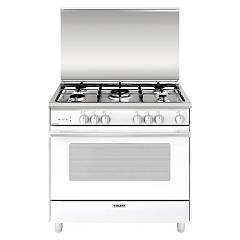 Glem U965vx Kitchen cm. 90 x 60 - white 5 fires - 1 gas oven Unica