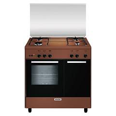 Glem Ar854gc Approach kitchen cm. 80 x 50 - brown 4 burners - 1 gas oven - gas cylinder Alpha