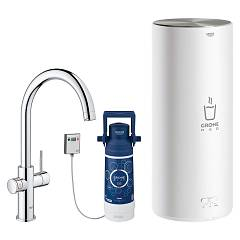 Grohe 30 079 001 Instant billing water mixer - chrome boiler size l Grohe Red