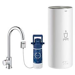 Grohe 30080001 Instant billing water dispenser - chrome boiler size l Grohe Red
