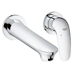 Grohe 29 097 003 Washbasin mixer - chrome size sa wall Eurostyle New
