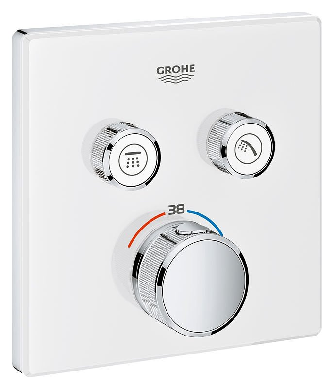 Grohe 29156ls0 Grohtherm Smartcontrol Thermostatic Mixer Shower ...