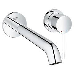 Grohe 19 967 001 Washbasin mixer - chrome size but wall Essence New