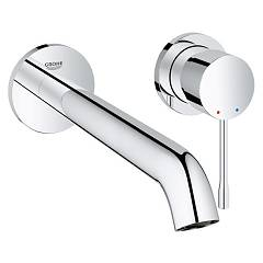 Grohe 19 968 000 Washbasin mixer - 2 hole chrome sizes the wall Essence New