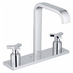 "Grohe 20143000 Basin tap - chrome battery with three holes 1/2 "" Allure"