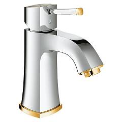Grohe 23 310 Ig0 Washbasin mixer - chrome-gold without discharge in saltarello Grandera