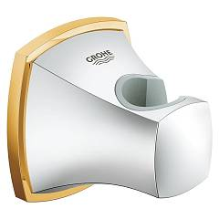 Grohe 27969ig0 Wall support - chrome-gold for shower knobs Grandera
