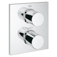 Grohe 27618000 Thermostatic shower mixer - chrome with 2-way deviator Grohtherm F