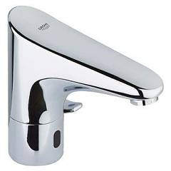 Grohe 36015001 Electronic basin mixer - chrome Europlus E